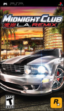 Midnight Club: LA Remix PSP