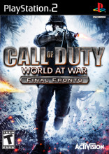 Call of Duty: World at War: Final Fronts PS2