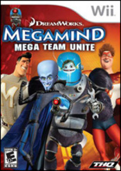 Megamind: Mega Team Unite Wii