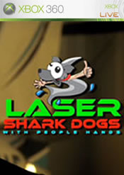 Laser Shark Dogs with People Hands Xbox 360