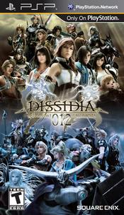 Dissidia 012 Final Fantasy PSP