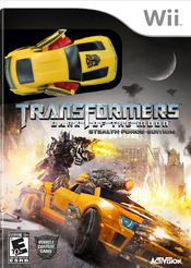Transformers: Dark of the Moon Wii