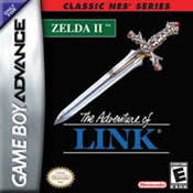Zelda II: The Adventure of Link: Classic NES Series GBA