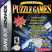Ultimate Puzzle Games GBA