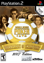 World Series of Poker: Tournament of Champions 2007 PS2