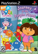 Dora The Explorer: Journey to the Purple Planet PS2