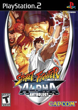 Street Fighter Alpha Anthology PS2