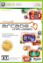 Xbox Live Arcade Unplugged Volume 1 Xbox 360
