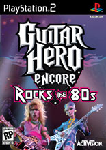 Guitar Hero Encore: Rocks the 80's PS2